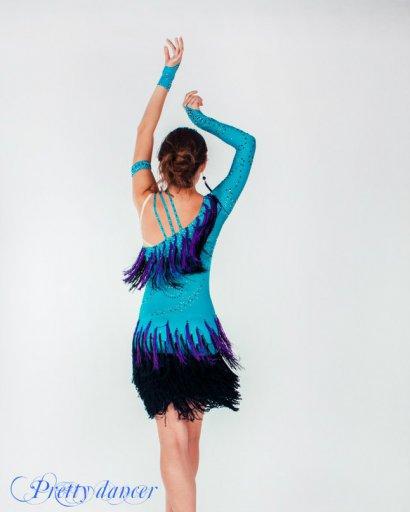 Платье С Бахромой Купить Для Танцев