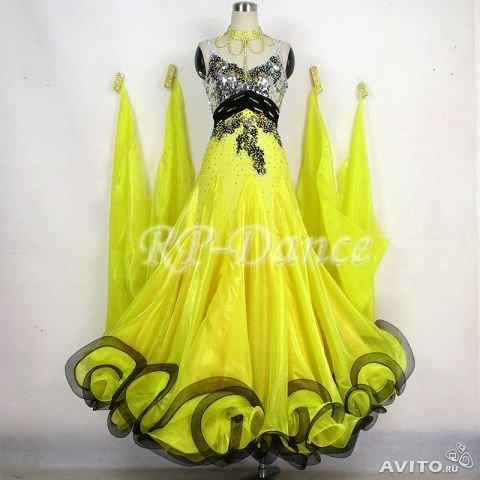 Платье стандарт для бальных танцев 396